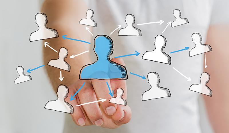Schéma représente les liens entre partenaires